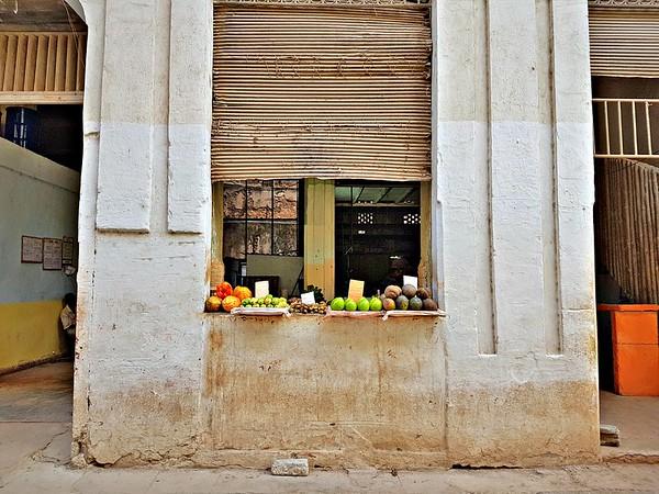 Exploring Havana - Fruit Stand in Havana