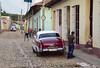 Colonial street in Trinidad, Cuba