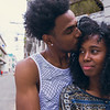 Cuban Couple spending time in Old Havana
