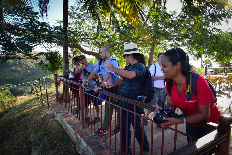 Our group at the Valley of the Sugar Mills overlook.