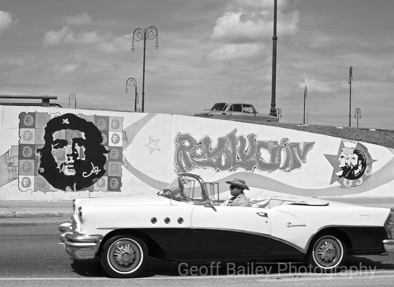Che Guevara B&W