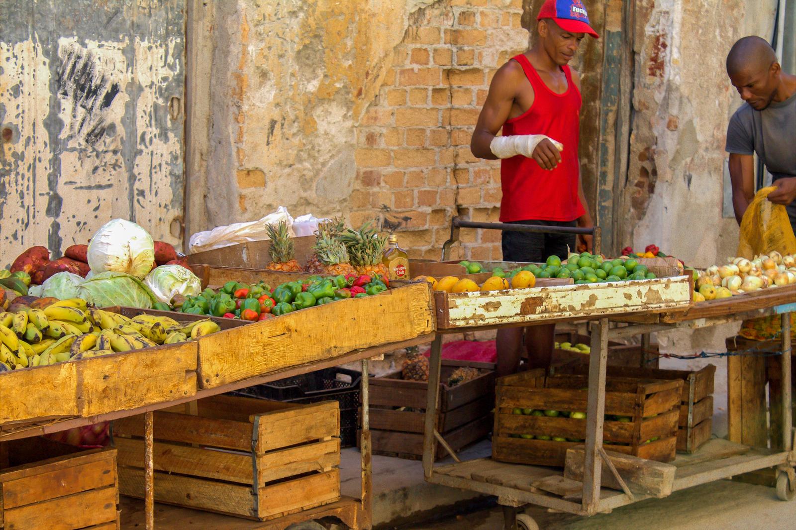 Cuban market, Havana