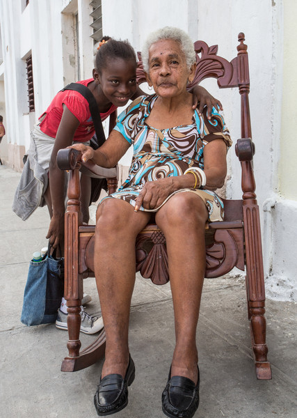 The Young and the Old:  Cienfuegos