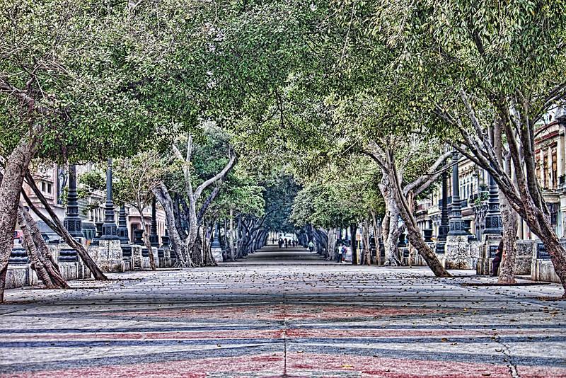 Promenade in Havana
