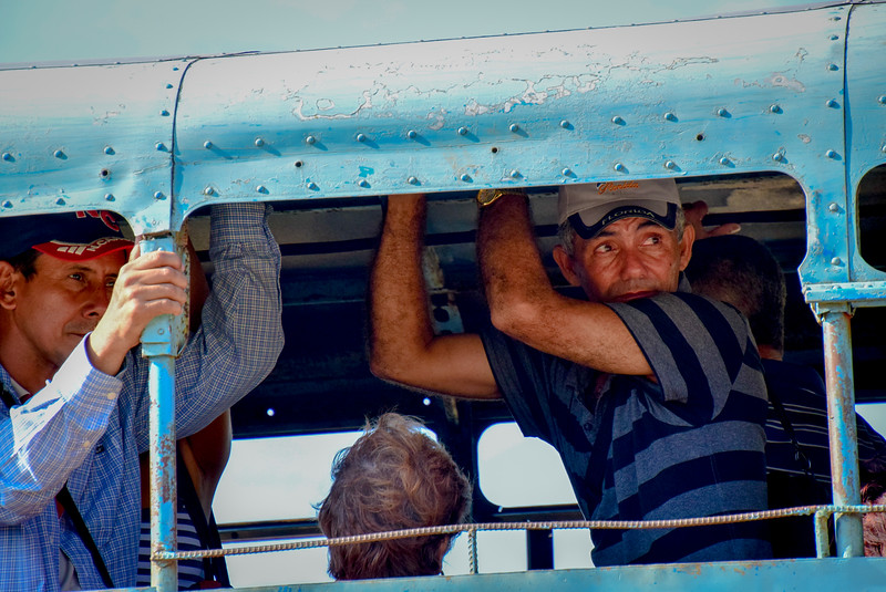 Local bus travel.