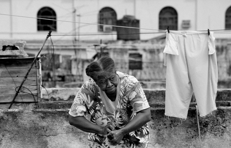 Washing in Havana