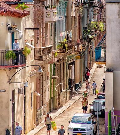 """Havana Street Scene"""
