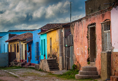 People and Street scenes from Trinidad, Cuba
