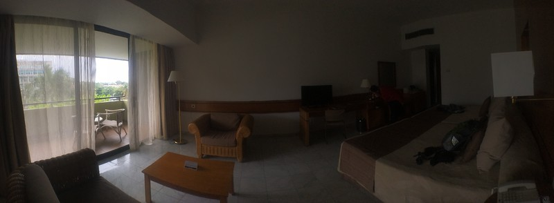 Our room at Melia Habana hotel.