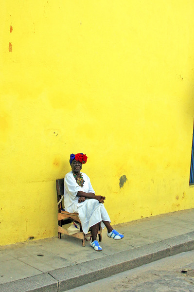 Basking in the ambient glow, Havana, Cuba