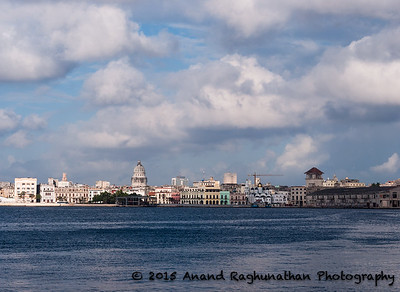 Iglesia de Nuestra Señora de Regla looking across the bay back to Old Havana