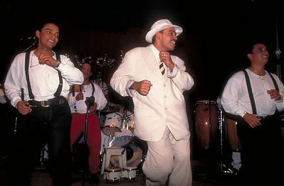"""""""El Medico de la Salsa,"""" performs in Havana, Cuba."""