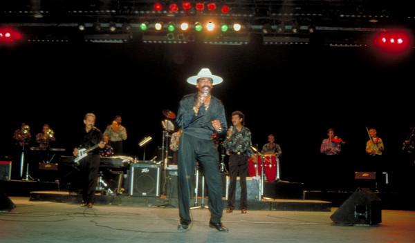 Los Van Van, Cuba's legendary salsa group, performs in Havana, Cuba.
