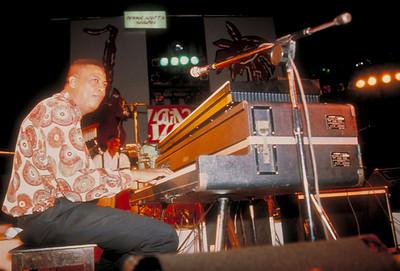Chucho Valdés, Cuba's legendary Jazz pianist, performs in Havana, Cuba.