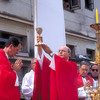 Cuban Cardinal Jaime Ortega performs Mass in Havana, Cuba, in preparation for Pope John Paul II's visit to the island.