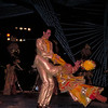 Cuban dancers perform at the Tropicana Cabaret <br /> in Havana, Cuba.