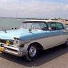 Old American car in Cuba.
