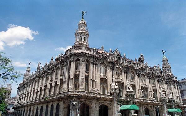 National Opera House, Havana, Cuba.