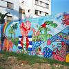 Government made mural in Havana, Cuba.