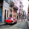Typical street scene, Havana, Cuba.
