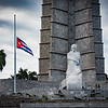 Plaza de la Revolucion, one day after Fidel died