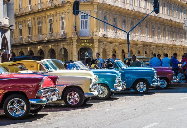 Almendrones, Havana