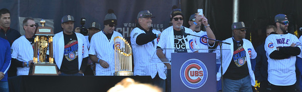 The Cubs coaching staff.