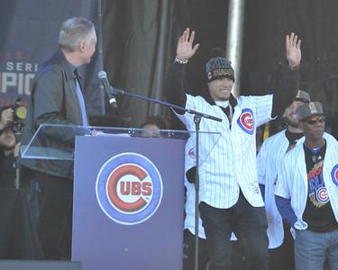 Cubs second baseman Javier Baez #9