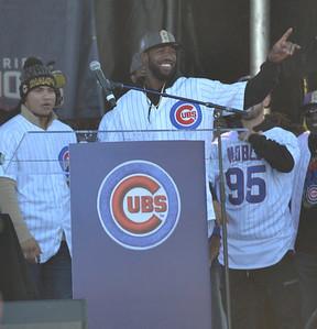 Cubs center fielder Dexter Fowler #24