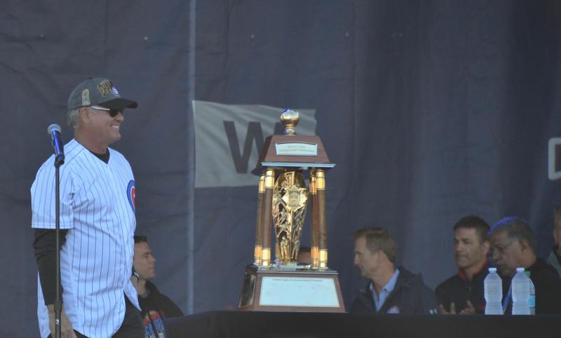 The greatest second baseman in the history of baseball...Ryne Sandberg.