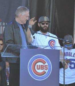 Cubs pitcher Jake Arrieta #49