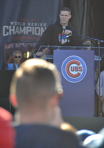 Cubs GM Theo Epstein.