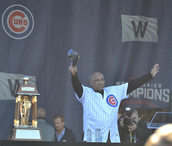 Cubs legend Billy Williams.