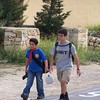 Cub Julian walking with VS Zack