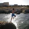 mowgli jumping in