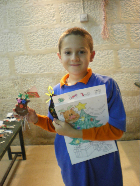 jack with all his crafts...