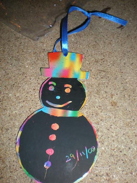 thomas's snowman...