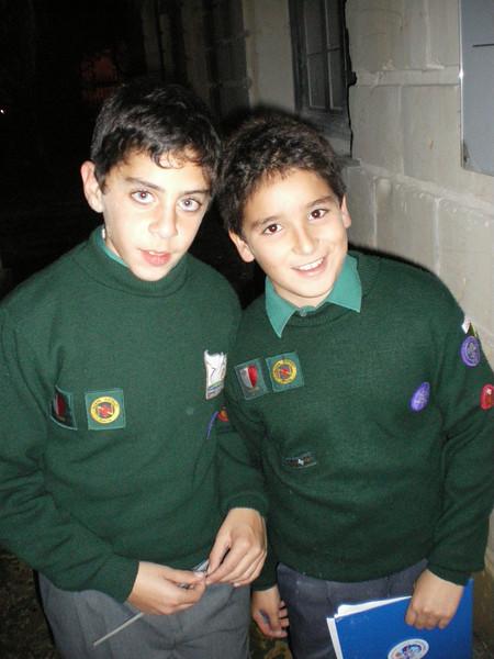 Mowgli (jordan) and Theo...outside HQ