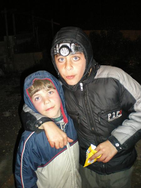 Buddies...Dominik and Theo