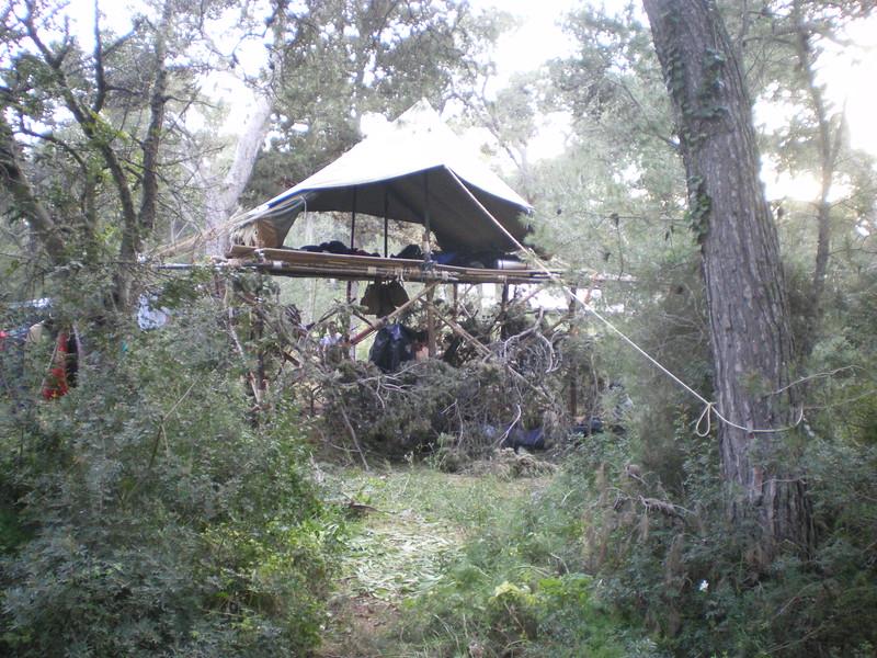 the Venture Tent!! Prosit guys!