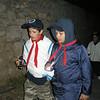 Cap-TU and Julian chatting away on the hike around Buskett..
