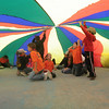 Inside the parachute mushroom