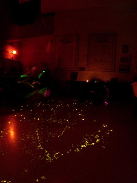 Our illuminated floor :D