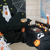The lovely setup for Halloween thanks to Michele's mother! THANKS!!! :D