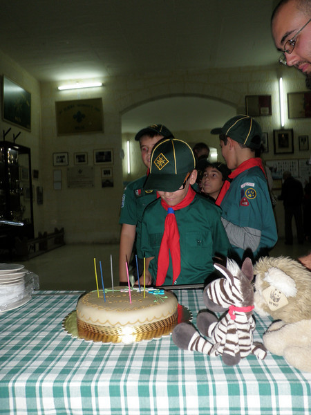 Time for cake...to celebrate the investiture