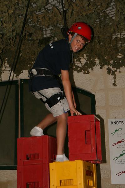a scout crate climbing