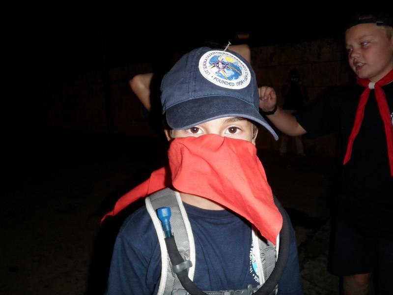 Terrorist JonJon!! (preparing for his stunt!!)