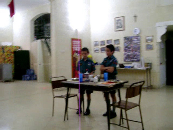 Video of Ben & Liam's presentation for their Cooking Badge