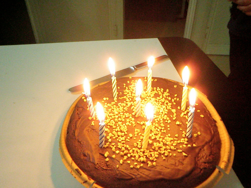 Bday cake..hmmmm! :P