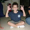 Ben...doing some Buddha move :S